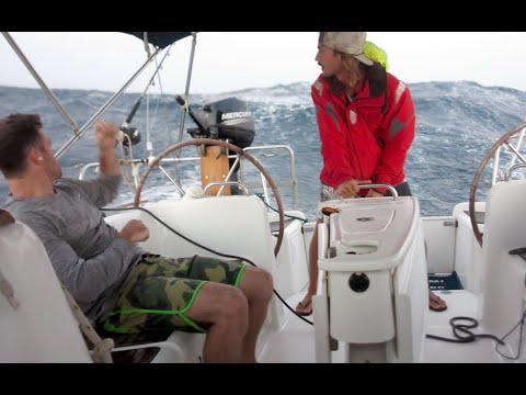 43 knots, bye bye Rileys Jocks (Sailing La Vagabonde) Ep. 31