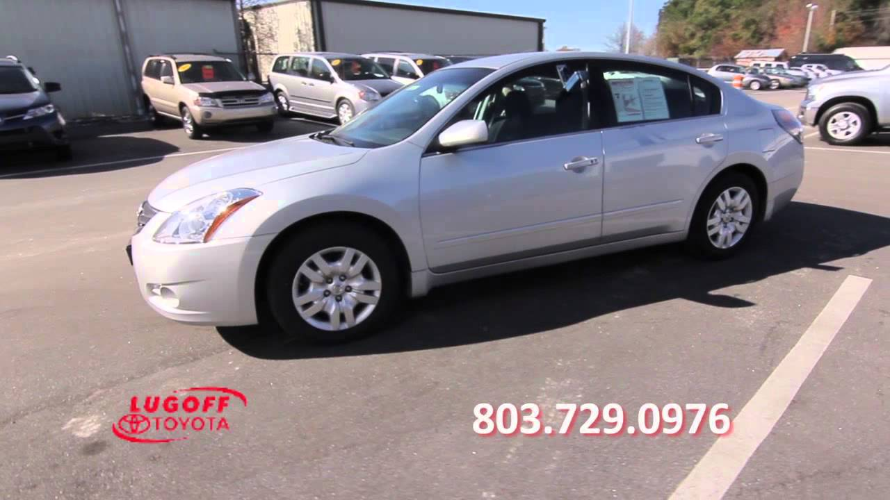 2012 Nissan Altima Lugoff Toyota Preowned Car Sales