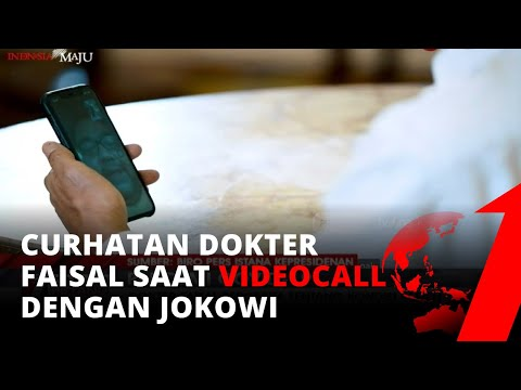 'Videocall' Dengan Jokowi,