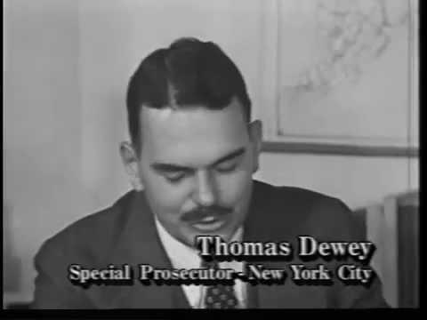 Thomas E. Dewey Becomes Special Prosecutor 1935