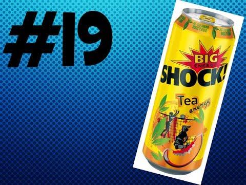 Czech Review Energy Drinks [#19] - Big Shock! Tea Energy [HD]