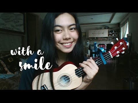 WITH A SMILE ukulele cover (Mama's girl OST)