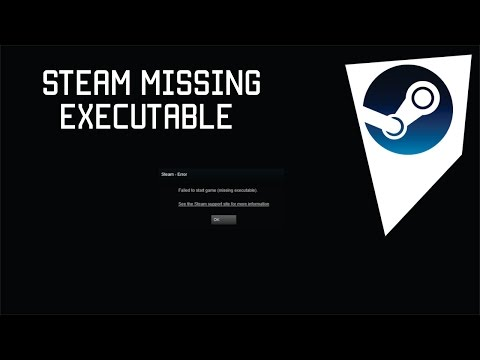 How to solve failed to start game missing executable