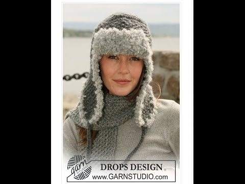 How To Knit Earflap Hat Left Handed Youtube