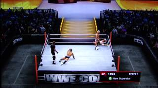 WWE13 Royal Rumble Sims - Royal Rumble match pt3