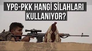 YPG - PKK Terör Örgütü Hangi Silahları Kullanıyor? ABD, YPG-PKK'ya Hangi Silahları Verdi?