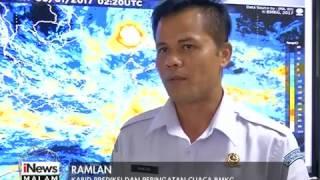 BMKG Prediksi Musim Hujan Dibeberapa Wilayah Akan Berakhir Pada Bulan April - INews Malam 30/01