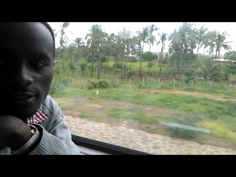 The speed and how sgr move from Mombasa to Nairobi(6)