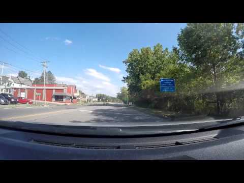 Driving Tour of Amsterdam NY on RT 5