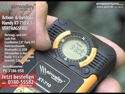 simvalley MOBILE Komfort-Outdoor-Handy XT-710 V.2 - (refurbished)