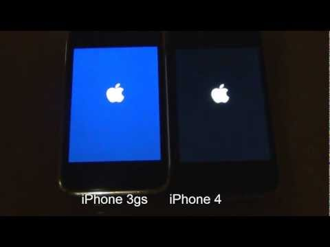 iPhone 3gs vs. iPhone 4 start up speed