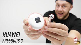 ???? Huawei Freebuds 3: Jsou lepší než AirPods Pro? | WRTECH [4K]