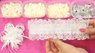 Как пошить подвязку для невесты. Wedding garter. Wedding accessories.