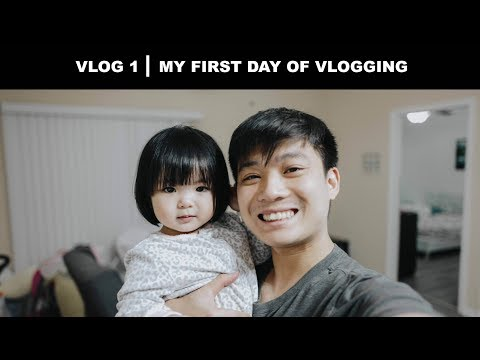 MY FIRST DAY VLOGGING  VLOG ĐẦU TIÊN