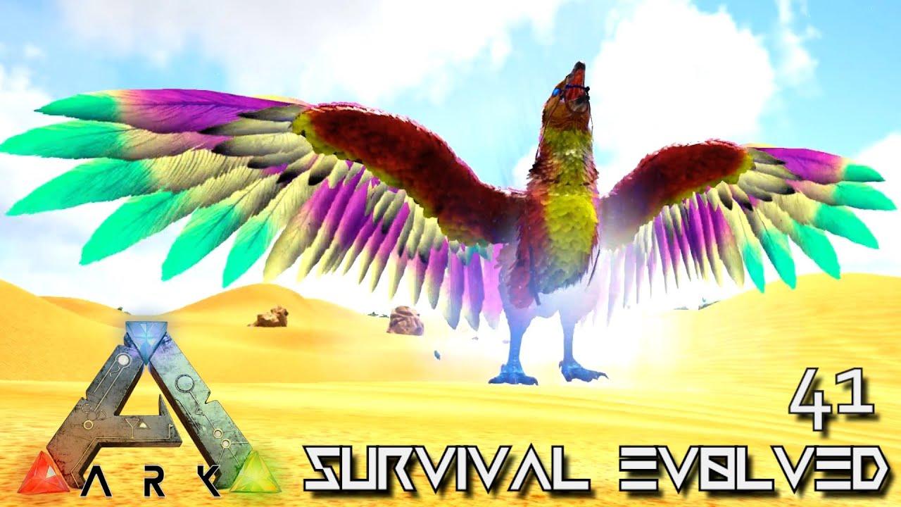 ARK: SURVIVAL EVOLVED - CELESTIAL ARGENTAVIS IS AMAZING !!! | PRIMAL FEAR  ISO CRYSTAL ISLES E41