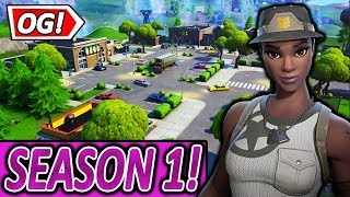 SEASON 1 RETAIL ROW IS BACK⚡🔥 | SOON RED STRIKER PACK | Fortnite battle royale