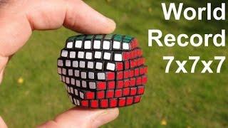 *World Record* Smallest 7x7x7 Rubik