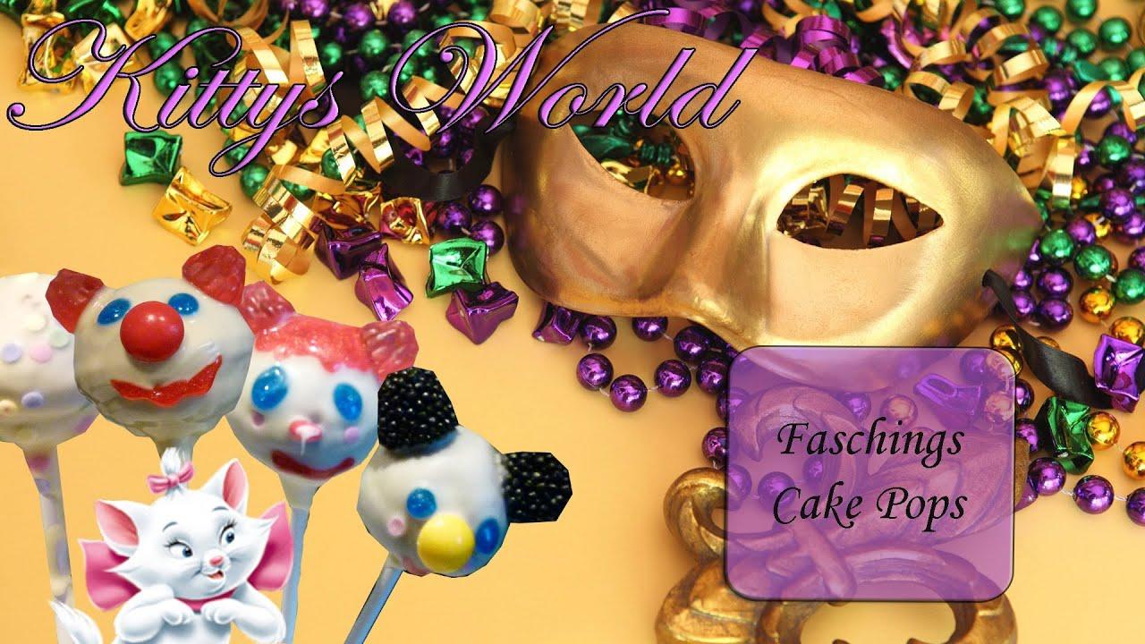 Faschings Cake Pops Youtube