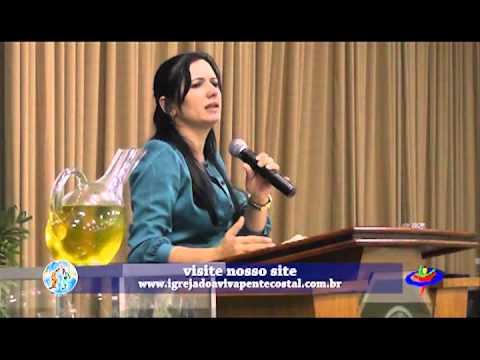 CULTO AVIVAMENTO PENTECOSTAL - 25-03-2013 - Pastora  Cristiane