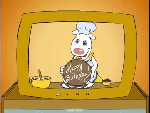 Happy Birthday Video Card, Happy Birthday Music Video