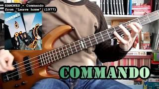 RAMONES - Commando (bass cover w/ Tabs) Mp3