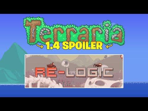 Terraria 1.3.6 Update - Re-Logic Splash Screens! Small Terraria Update Spoiler!
