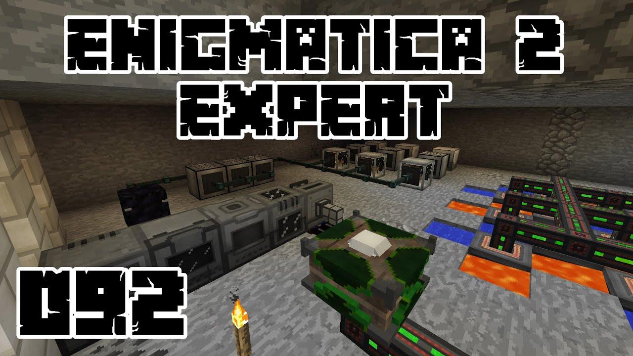 Download Enigmatica 2 Expert #092 - Aufbau der Erzverdreifachung!