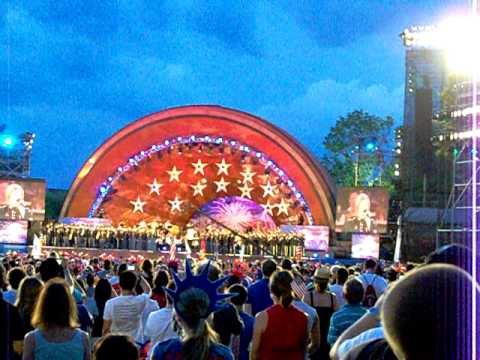 The Star-Spangled Banner By The Boston Pops For The 4th Of July Celebration 2011