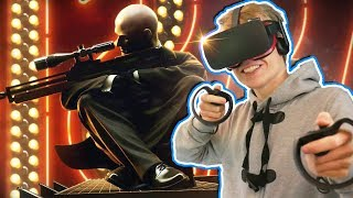 VR SNIPER SIMULATOR! | The Perfect Sniper (Oculus Touch Gameplay)