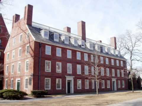 Harvard Campus: Massachusetts Hall