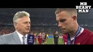 Real Madrid 3 1 Liverpool   Jordan Henderson Post Match Interview   Champions League Final