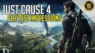 Just Cause 4 Playtest Impressions (E3 2018 Gameplay)