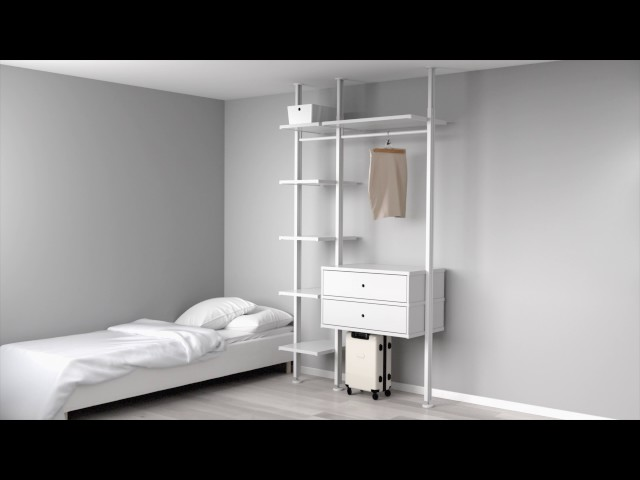 begehbarer kleiderschrank ikea. Black Bedroom Furniture Sets. Home Design Ideas