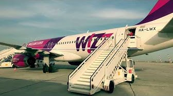 Wizz Air Flight Experience Eindhoven - Varna (Black Sea, Bulgaria)