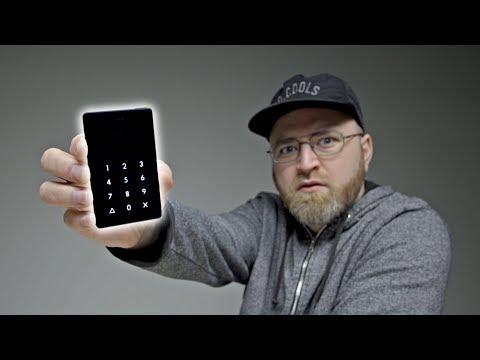 What a strange phone...