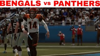 Madden 19 Online Gameplay (Cincinnati Bengals vs Carolina Panthers)