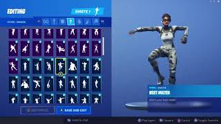 CHROMIUM SKIN SHOWCASE WITH ALL FORTNITE DANCES & EMOTES