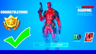 How to Unlock NEW Deadpool Skin in Fortnite *Gameplay* (Battle Royale)