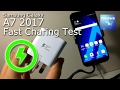 Samsung Galaxy A7 2017 Fast Charging Test