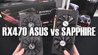 Asus Strix & Sapphire Nitro+ RX470 Review