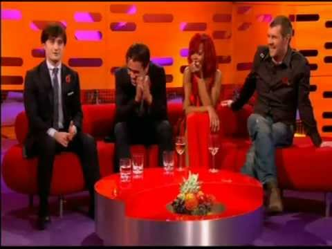 The element song daniel radcliffe singing sitting next to the element song daniel radcliffe singing sitting next to rhianna on the graham norton showflv urtaz Choice Image