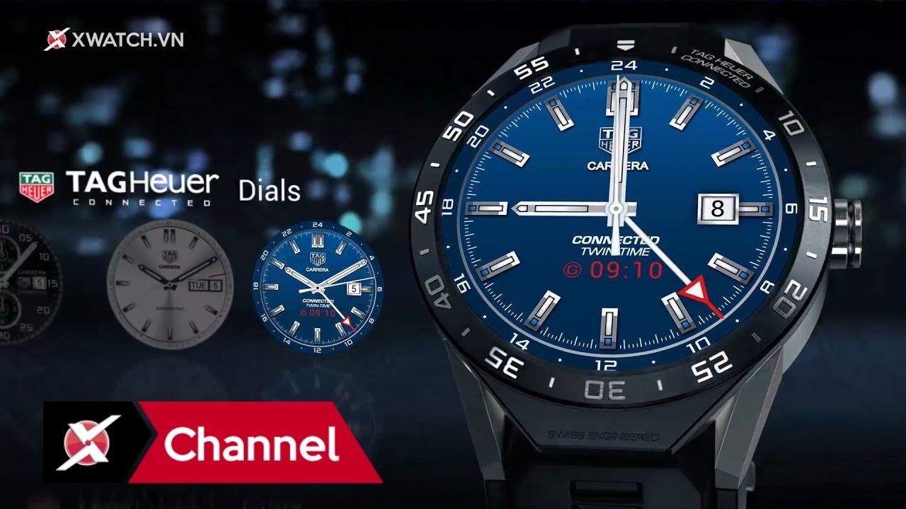 Đồng hồ thông minh đắt nhất thế giới – Tag Heuer Connected