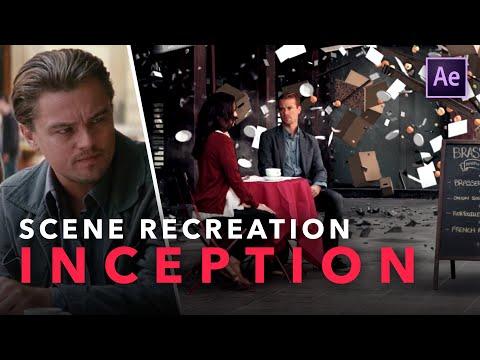 Inception VFX Breakdown – Dream World Cafe Scene   Recreating The Scene