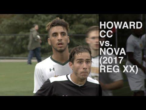 Howard CC vs Northern Virginia CC (2017 Region XX Championship, NJCAA Men's Soccer)