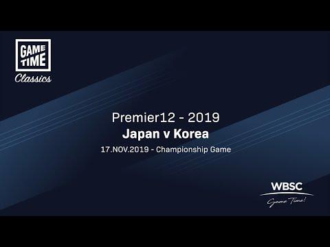 Japan V Korea - Premier12 2019 - Championship Game