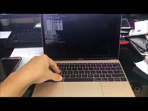 How to Restore Reset a Macbook A1534 to Factory Settings ║Bypass Password