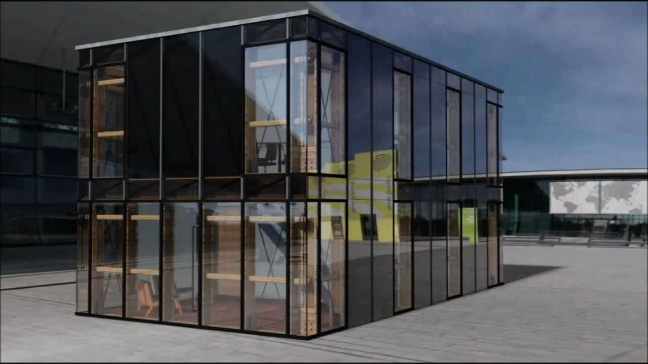 si modular office cube c2 modularer systembaukasten youtube. Black Bedroom Furniture Sets. Home Design Ideas