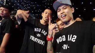Chung Kết Ayyo Battle Rap - Sài Gòn vs Hà Nội (Vlog 86) Sài Gòn vs Everybody