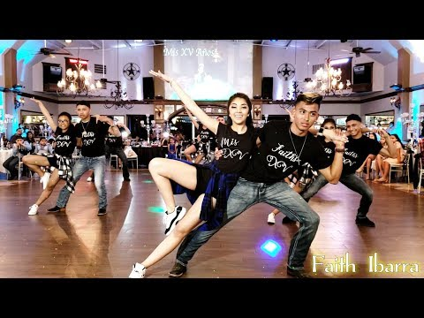 Faith Ibarra Quinceanera Surprise Dance | baile esta cumbia, get right, stand by me, billie jean