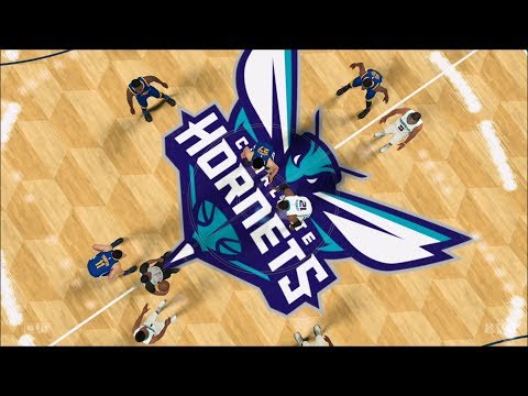 NBA 2K18 - Charlotte Hornets vs Golden State Warriors - Gameplay (PS4 HD) [1080p60FPS]